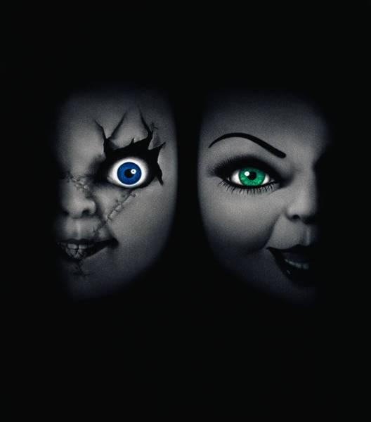 Chucky Wall Art - Digital Art - Childs Play 4 Bride Of Chucky 1998 by Geek N Rock