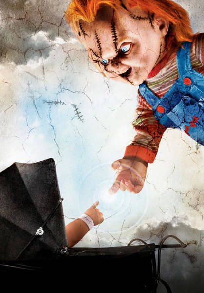 Chucky Wall Art - Digital Art - Childs Play 5 Seed Of Chucky 2004 by Geek N Rock