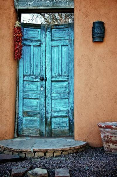 Photograph - Chile Doors by Flying Z Photography by Zayne Diamond