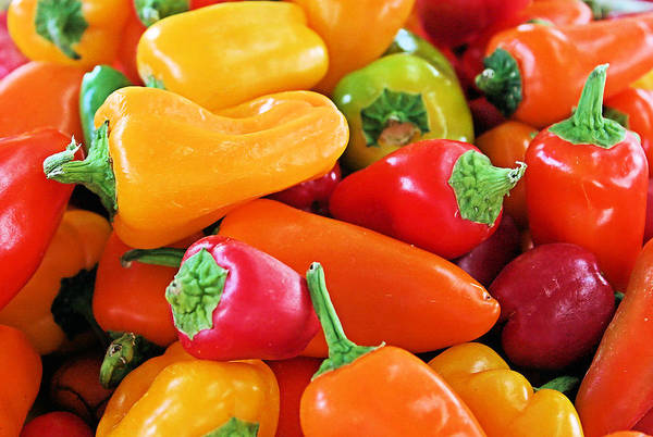 Photograph - Chili Peppers by Kristin Elmquist