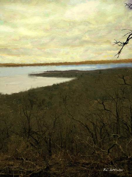 Painting - Chill Spring by RC DeWinter