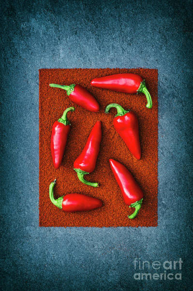 Wall Art - Photograph - Chillies by Tim Gainey