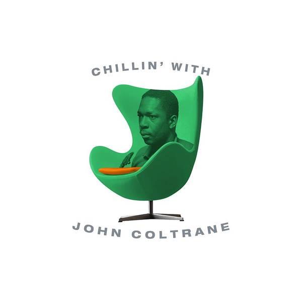 Hard Bop Wall Art - Digital Art - Chillin With John Coltrane by David Richardson