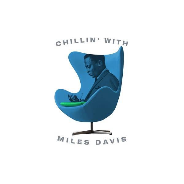 Hard Bop Wall Art - Digital Art - Chillin With Miles Davis by David Richardson