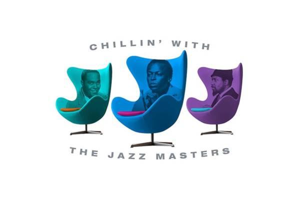 Hard Bop Wall Art - Digital Art - Chillin With The Jazz Masters  by David Richardson