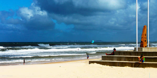 Photograph - Chilling On Surfers Paradise Beach by Susan Vineyard