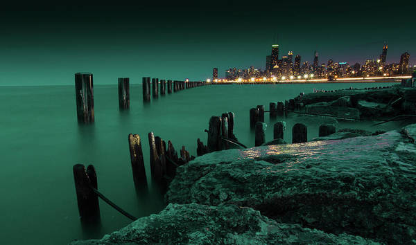 Photograph - Chilly Chicago 2 by Dillon Kalkhurst