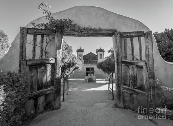 Wall Art - Photograph - Chimayo Entrance by Inge Johnsson