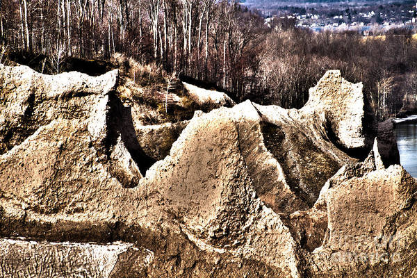 Photograph - Chimney Bluff by William Norton