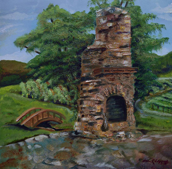 Painting - Chimney by Jan Dappen