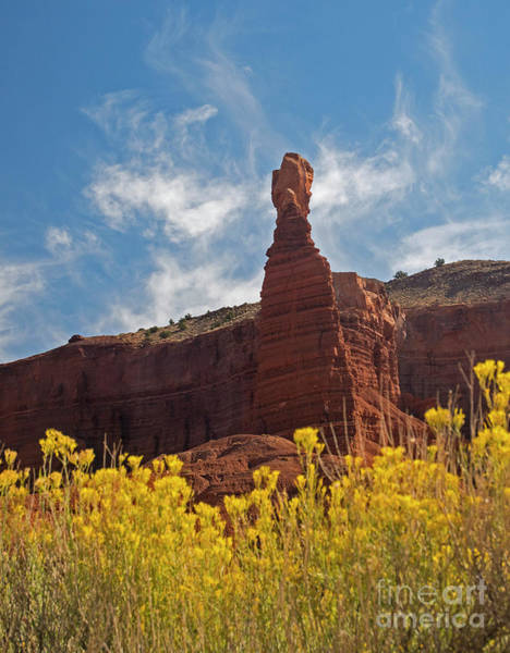 Photograph - Chimney Rock Capital Reef by C