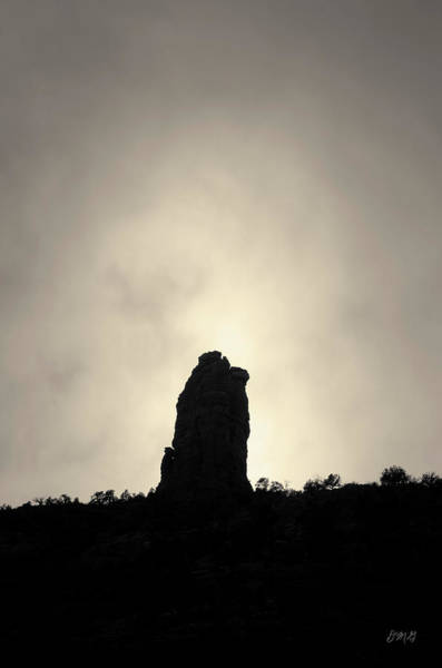 Photograph - Chimney Rock IIi Toned by David Gordon