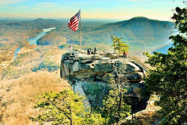 Photograph - Chimney Rock North Carolina by Lisa Wooten