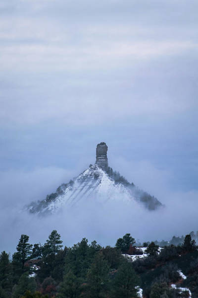 Photograph - Chimney Rock Rising by Jason Coward