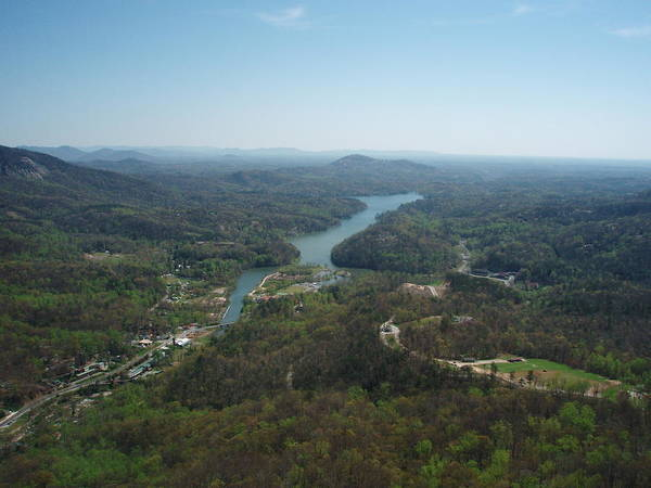 Photograph - Chimney Rock View by Allen Nice-Webb