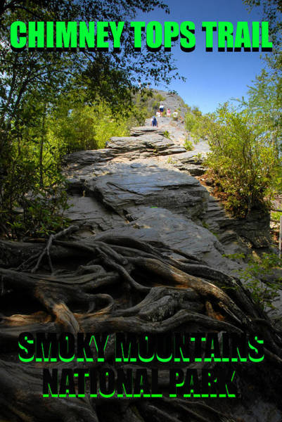 Wall Art - Photograph - Chimney Toprs Trail Poster by David Lee Thompson