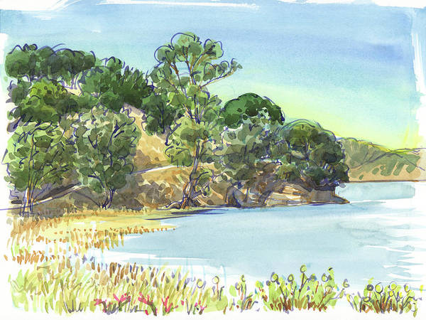 Painting - China Camp by Judith Kunzle