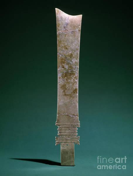 Photograph - China: Jade Blade by Granger