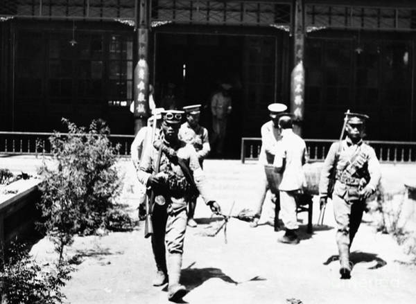 Photograph - China Royalist Coup 1917 by Granger