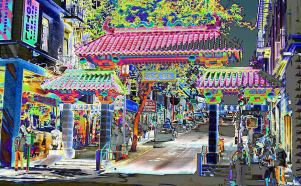 China Town  Entrance Art Print