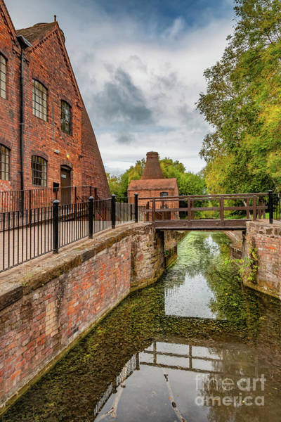 Photograph - China Works Coalport  by Adrian Evans