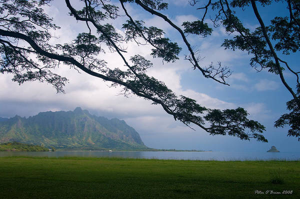 Mokolii Photograph - Chinamans Hat - Oahu  by Peter OBrien
