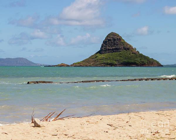 Mokolii Photograph - Chinamans Hat Oahu by Cheryl Del Toro