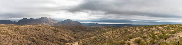 Photograph - Chinati Peak Panorama by SR Green