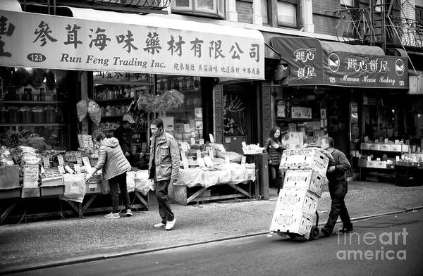 Photograph - Chinatown Delivery by John Rizzuto