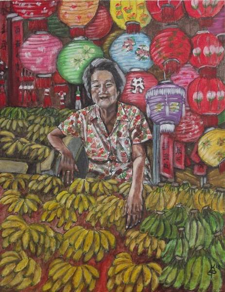 Wall Art - Painting - Chinatown Market by Kim Selig