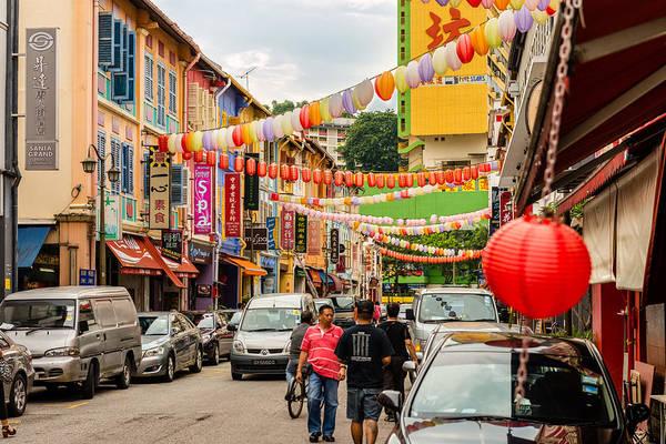 Photograph - Chinatown Singapore by Michael Scott