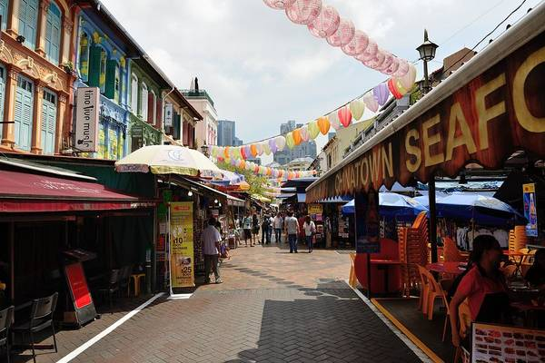 Photograph - Chinatown Street by Michael Scott