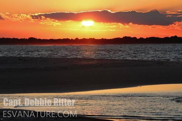 Photograph - Chincoteague Sunset 9377 by Captain Debbie Ritter