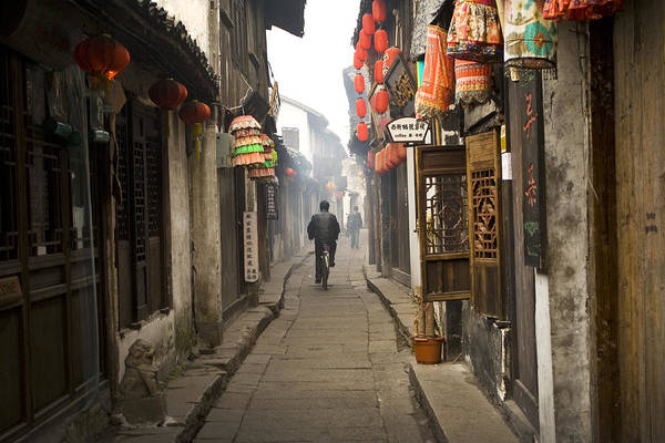 Chinese Alley Art Print