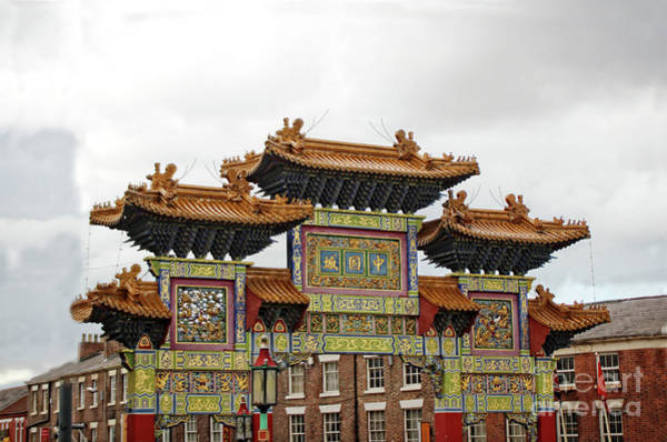Photograph - Chinese Arch In Chinatown by Doc Braham
