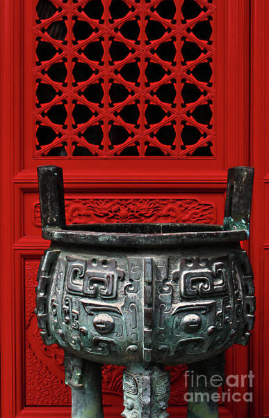 Wall Art - Photograph - Chinese Culture by Fei A