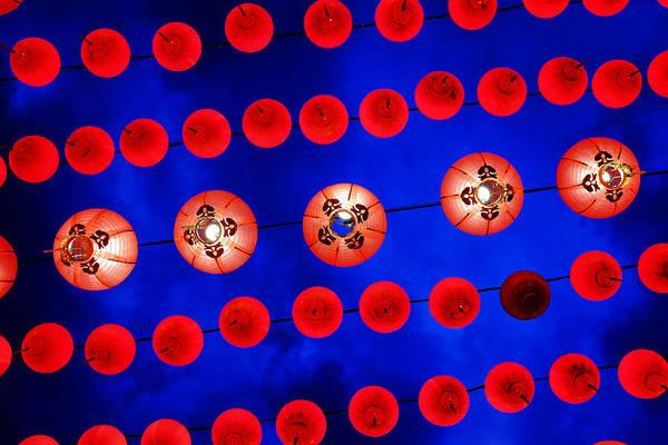 Photograph - Chinese Lanterns by Fabrizio Troiani