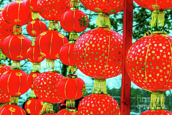 Wall Art - Photograph - Chinese New Year Decoration 1 by Viktor Birkus