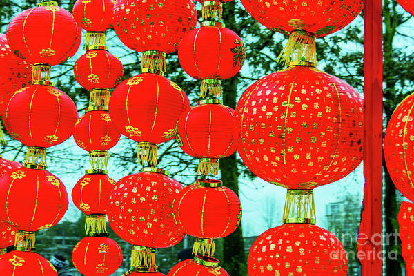Wall Art - Photograph - Chinese New Year Decoration 2 by Viktor Birkus