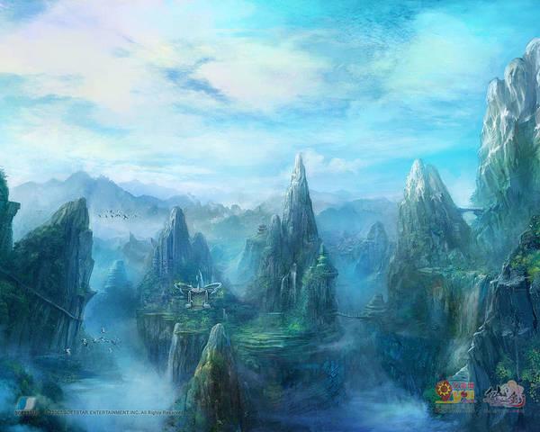 Paladin Digital Art - Chinese Paladin Online by Winna Perlin