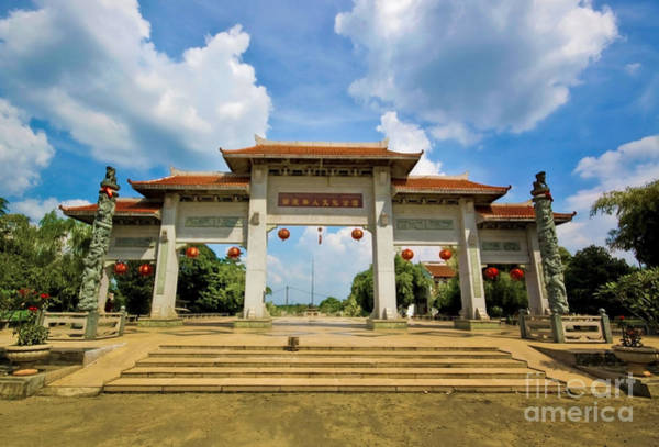 Jakarta Photograph - Chinese Temple by Charuhas Images