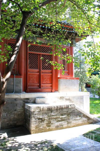 Photograph - Chinese Temple Garden by Carol Groenen