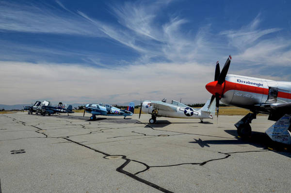 Hawker Sea Fury Photograph - Chino Planes Of Fame Airshow by Jeff Kinder