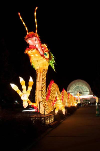 Photograph - Chinses Dragon Lantern  by Steve Stuller