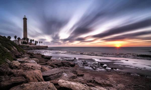 Cielo Wall Art - Photograph - Chipiona Sunset by Hernan Bua