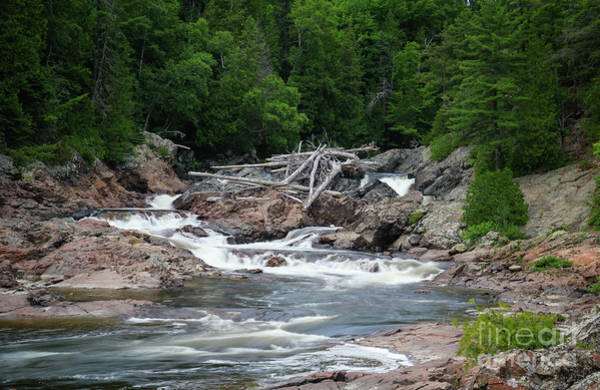Photograph - Chippewa Falls And River by Rachel Cohen