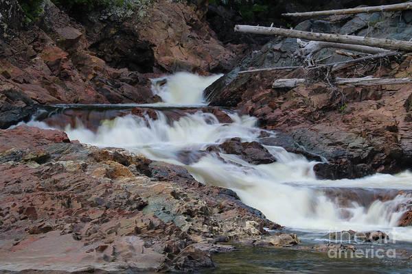 Photograph - Chippewa Falls by Rachel Cohen