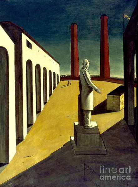 Wall Art - Photograph - Chirico: Enigma, 1914 by Granger
