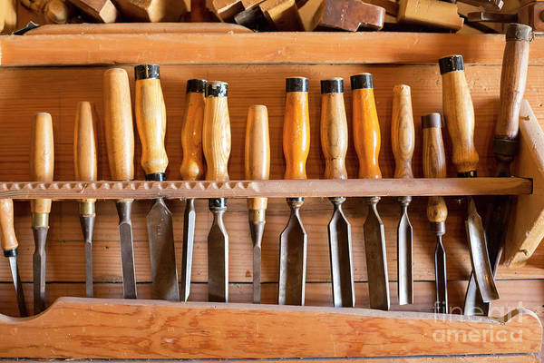 Photograph - Chisels by Jim West