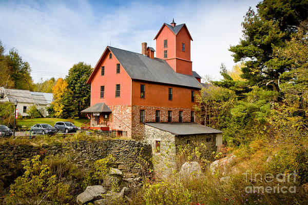 Photograph - Chittenden Old Red Mill by Susan Cole Kelly